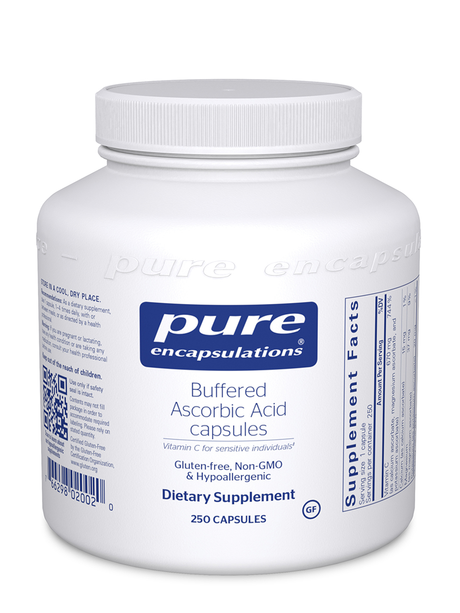 Buffered Ascorbic Acid - 250 Capsules