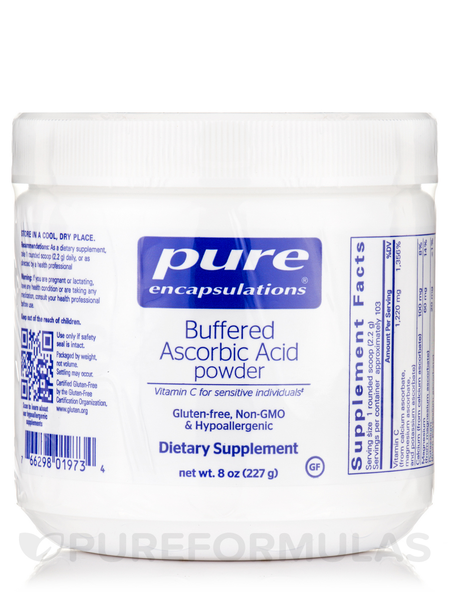 Buffered Ascorbic Acid Powder - 8 oz (227 Grams)