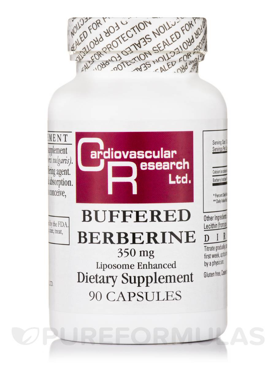 Buffered Berberine 350 mg - 90 Capsules