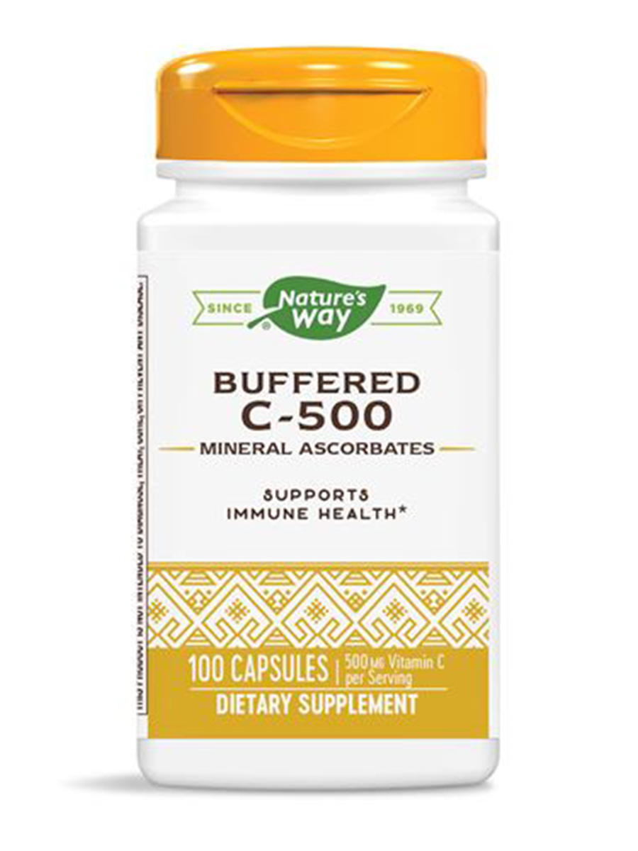 Buffered C-500 Mineral Ascorbates - 100 Capsules