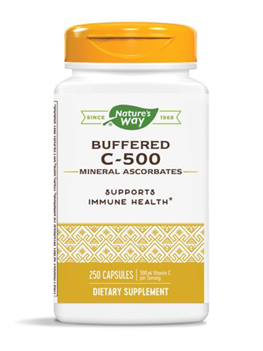 Buffered C 500 Ascorbate - 250 Capsules