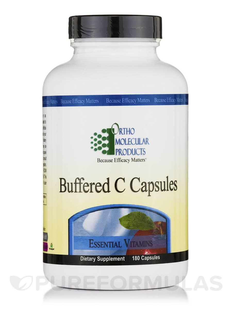 Buffered C Capsules - 180 Capsules