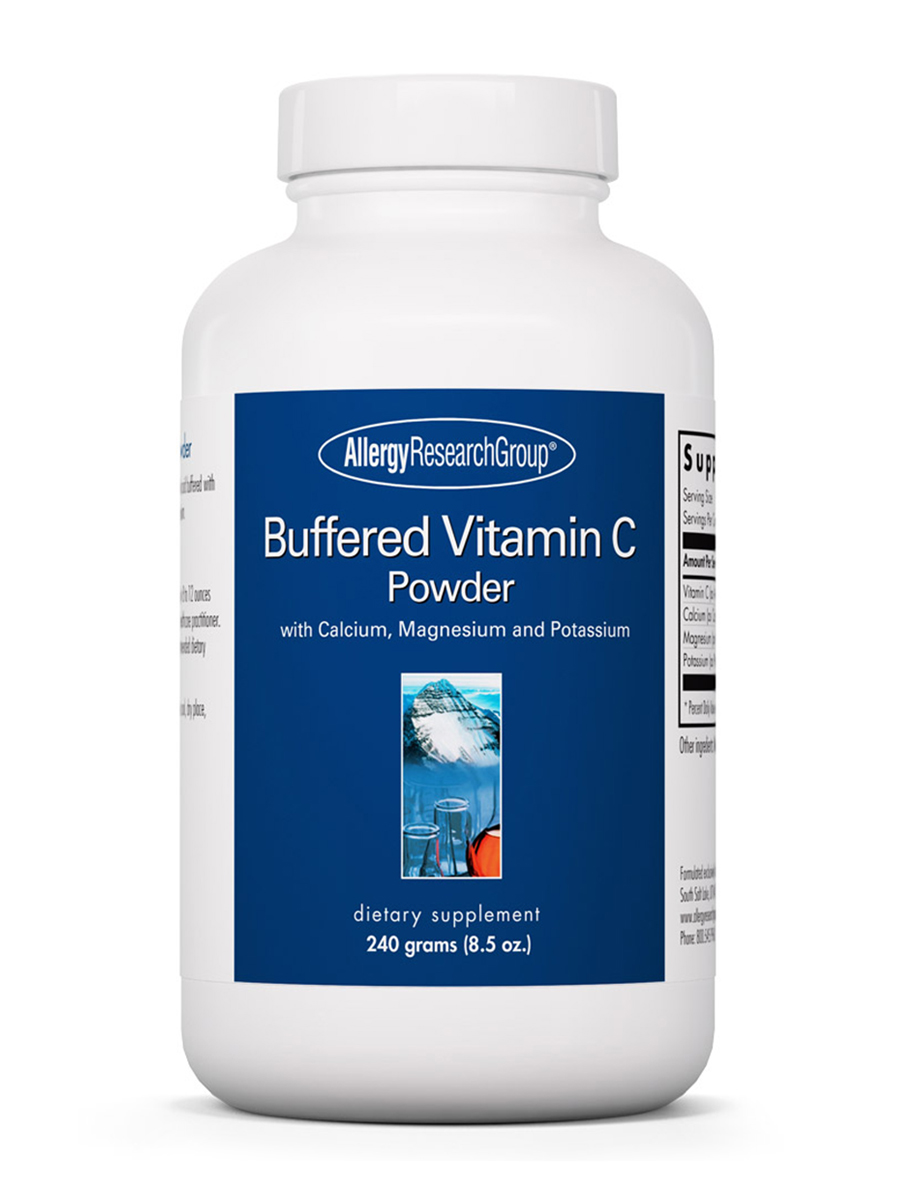 Buffered Vitamin C Powder (corn source) - 8.5 oz (240 Grams)