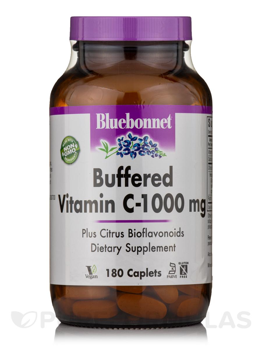 Buffered Vitamin C-1000 mg - 180 Caplets
