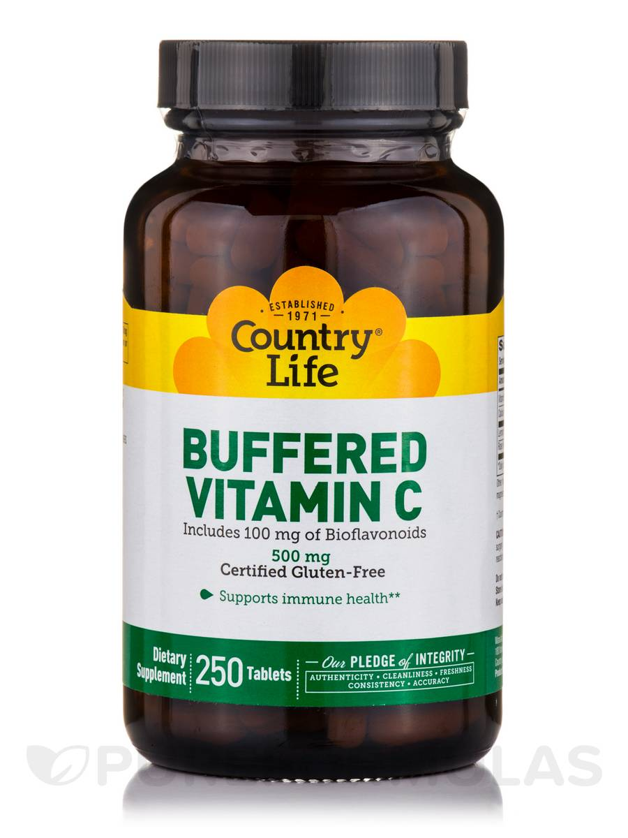 Buffered Vitamin C 500 mg - 250 Tablets