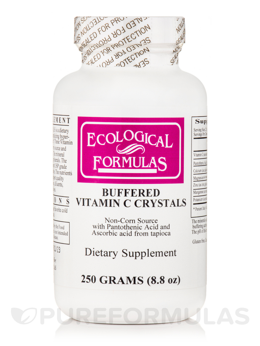 Buffered Vitamin C Crystals - 250 Grams