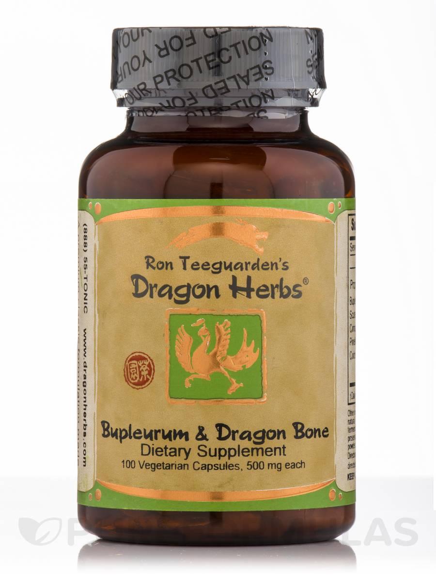 Bupleurum and Dragon Bone - 100 Vegetarian Capsules