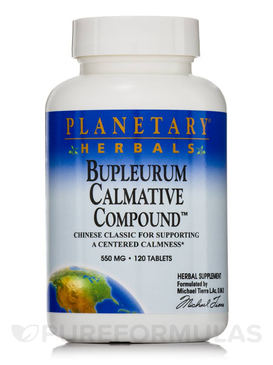 Bupleurum Calmative Compound 550 mg - 120 Tablets