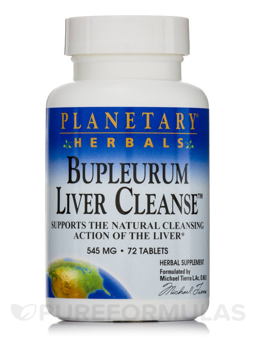 Bupleurum Liver Cleanse 545 mg - 72 Tablets
