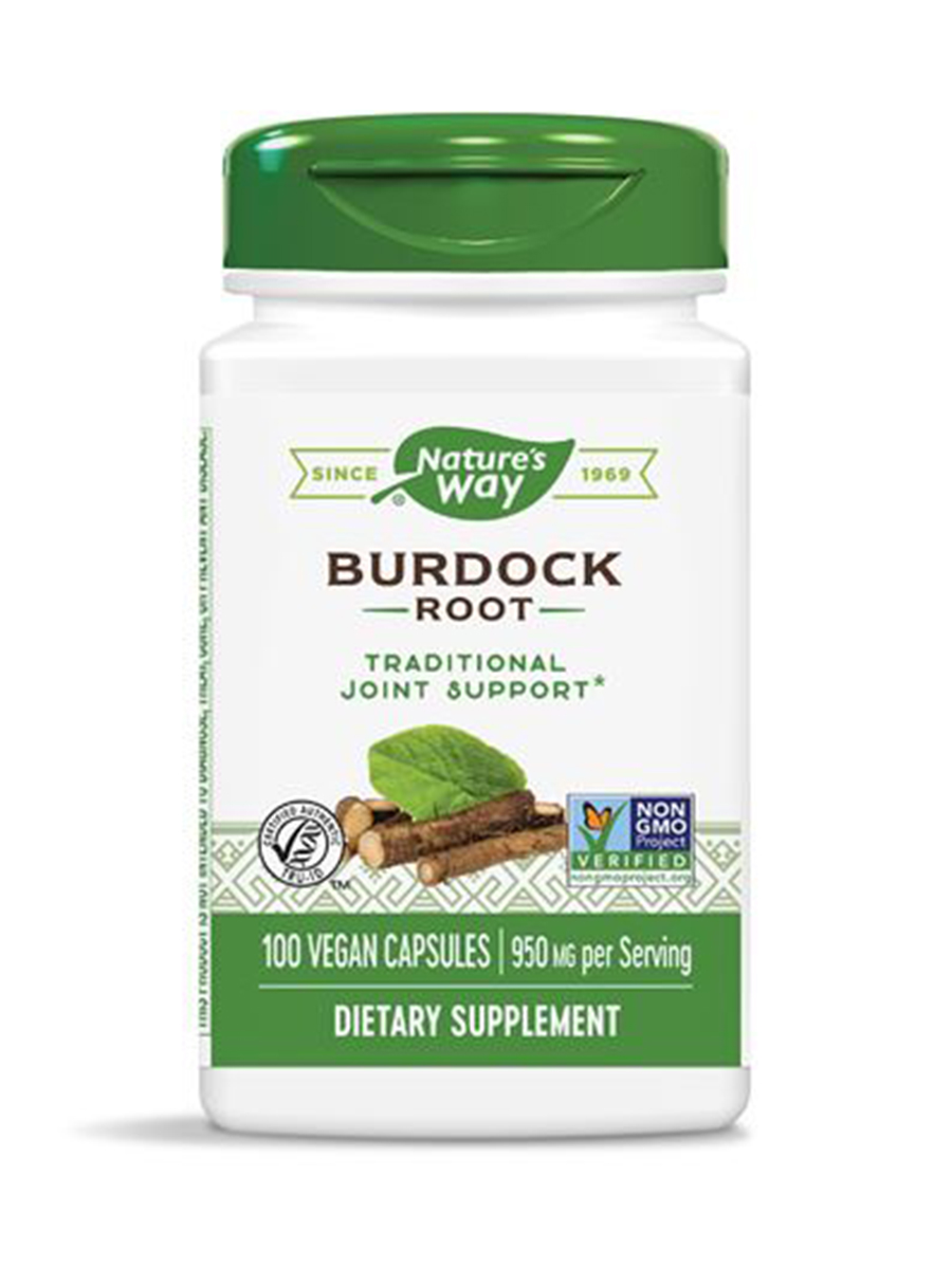 Burdock Root 475 mg - 100 Capsules