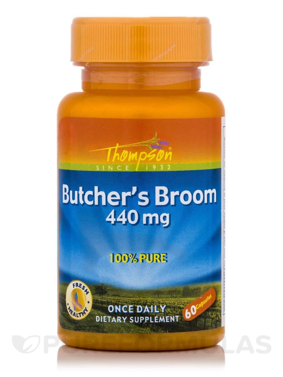 Butcher's Broom 440 mg - 60 Capsules