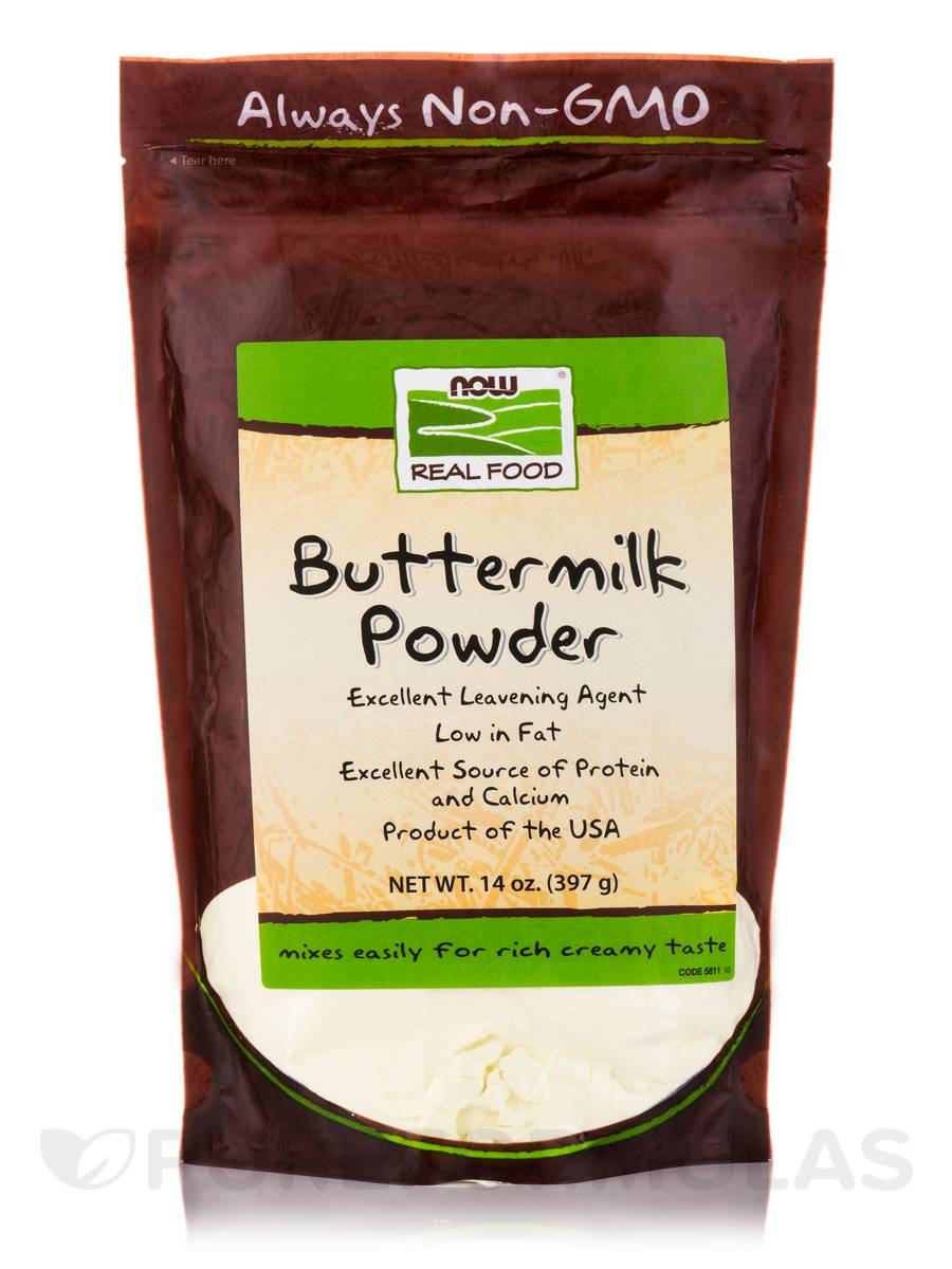 NOW® Real Food - Buttermilk Powder - 14 oz (397 Grams)