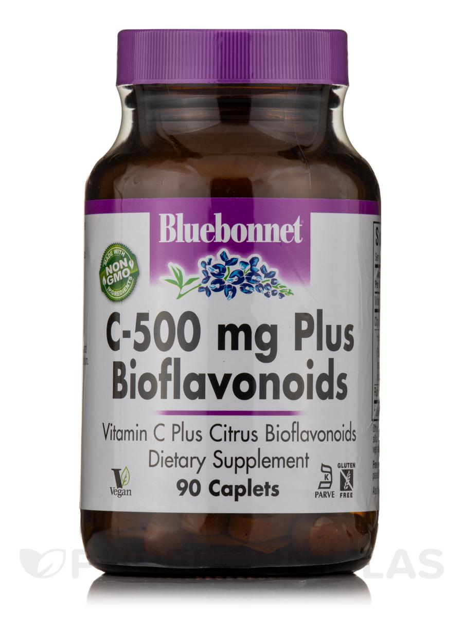 C-500 mg Plus Bioflavonoids - 90 Caplets