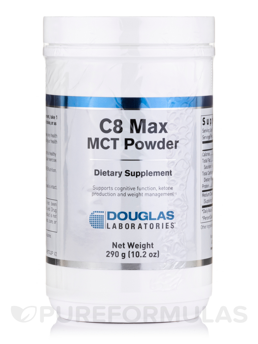 C8 Max MCT Powder - 10.2 oz (290 Grams)
