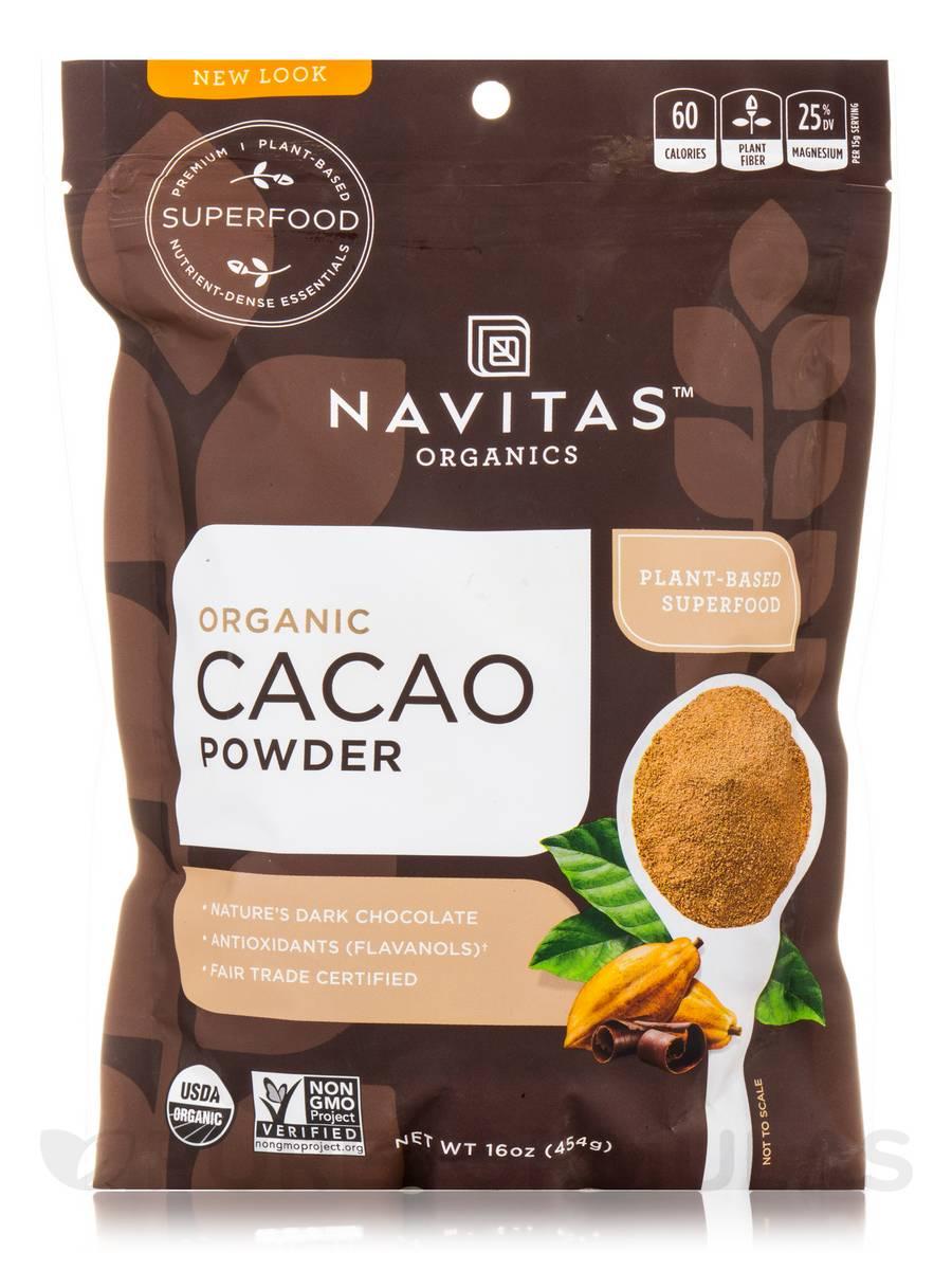Organic Cacao Powder - 16 oz (454 Grams)