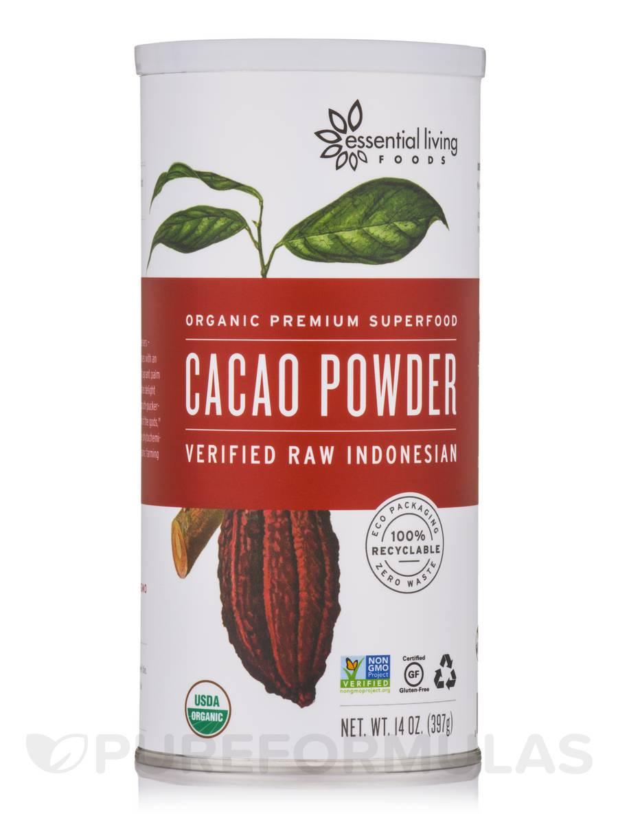 Cacao Powder Verified, Raw - 14 oz (397 Grams)