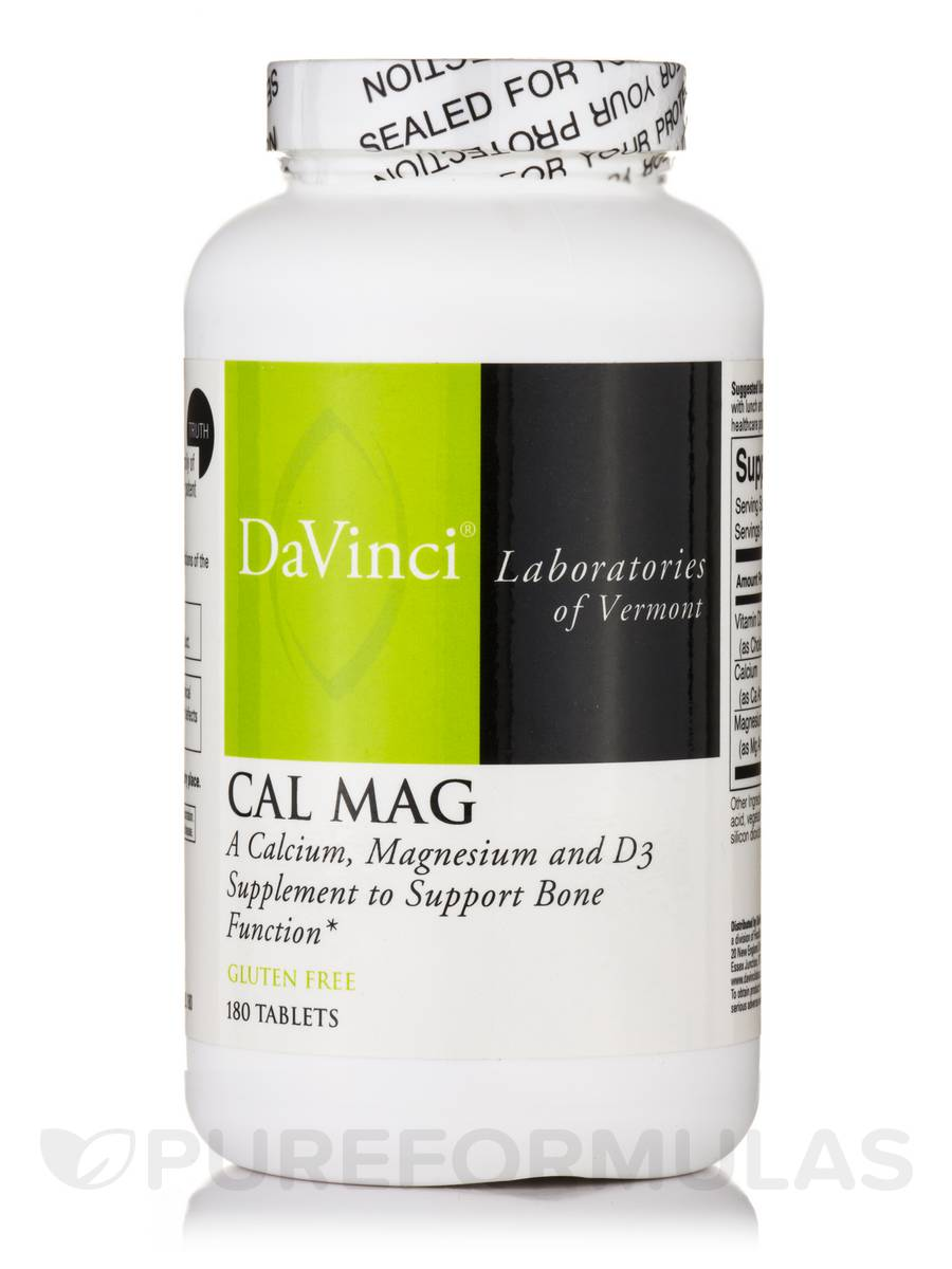 Cal Mag - 180 Tablets