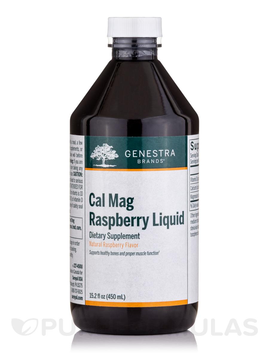 Cal Mag Raspberry Liquid - 15.2 fl. oz (450 ml)