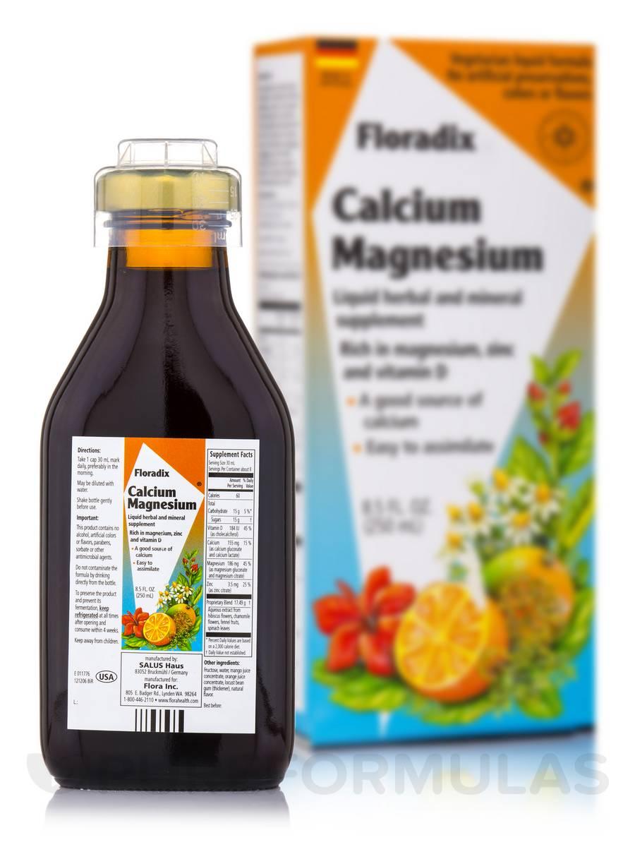 Calcium Magnesium - 8.5 fl. oz (250 ml)