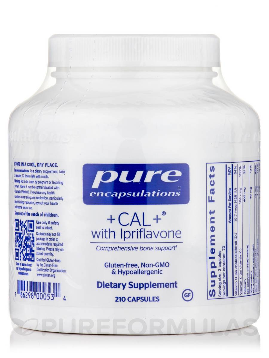+CAL+® with Ipriflavone - 210 Capsules