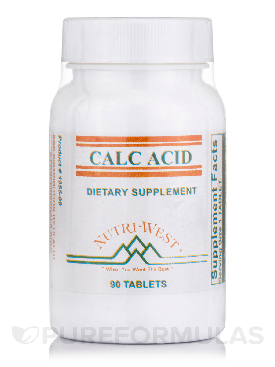 Calc-Acid - 90 Tablets