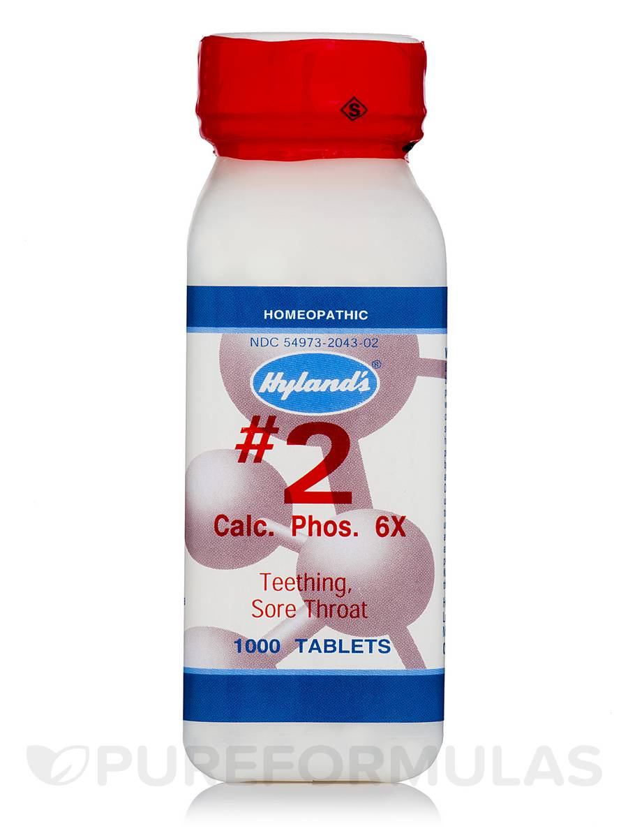 Calcarea Phosphorica 6X - 1000 Tablets