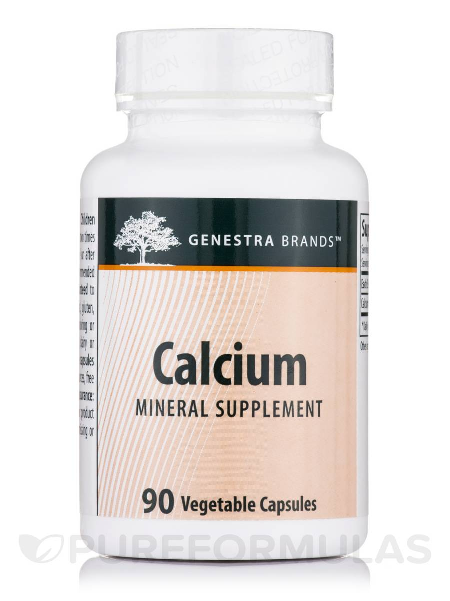 Calcium - 90 Vegetable Capsules