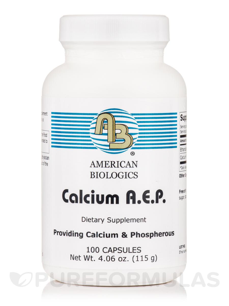 Calcium A.E.P. - 100 Capsules