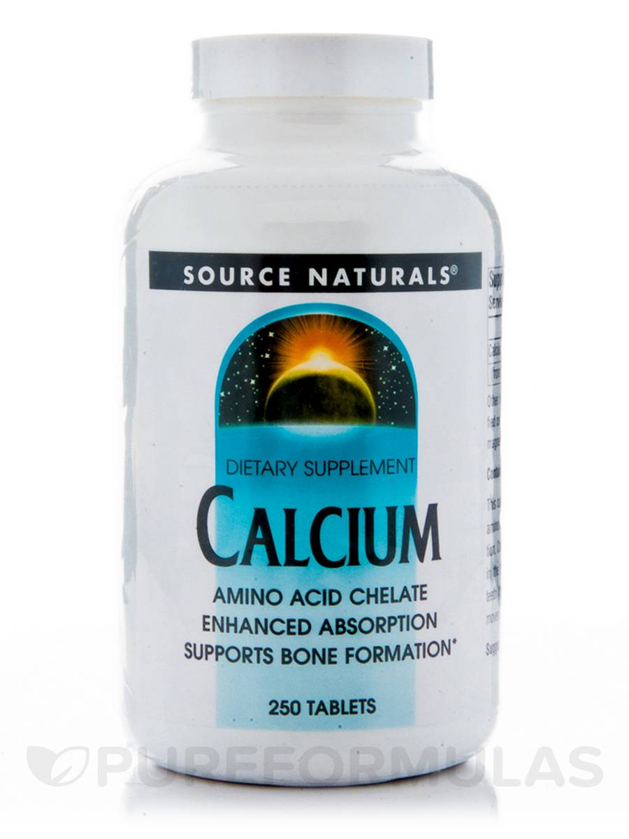 Calcium Amino Acid Chelate - 250 Tablets