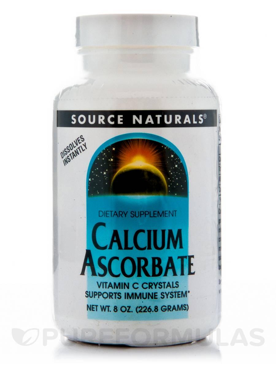 Calcium Ascorbate Crystals - 8 oz (226.8 Grams)
