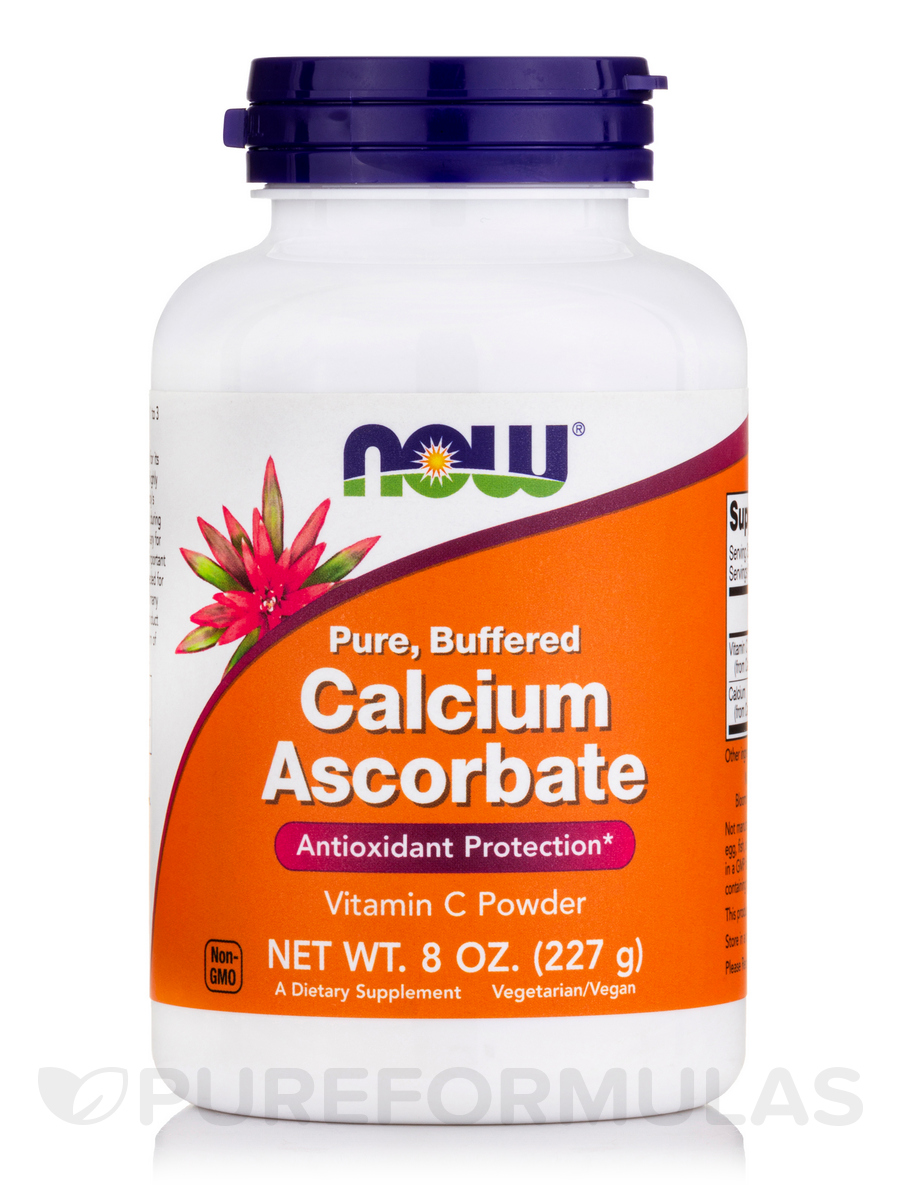 Calcium Ascorbate Powder (Pure, Buffered) - 8 oz (270 Grams)