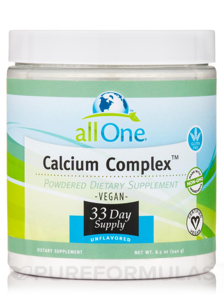 Calcium Complex, Unflavored - 8.5 oz (240 Grams)