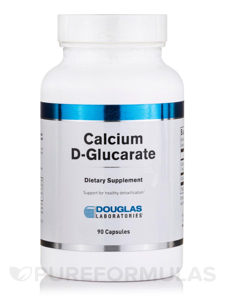 Calcium D-Glucarate - 90 Capsules