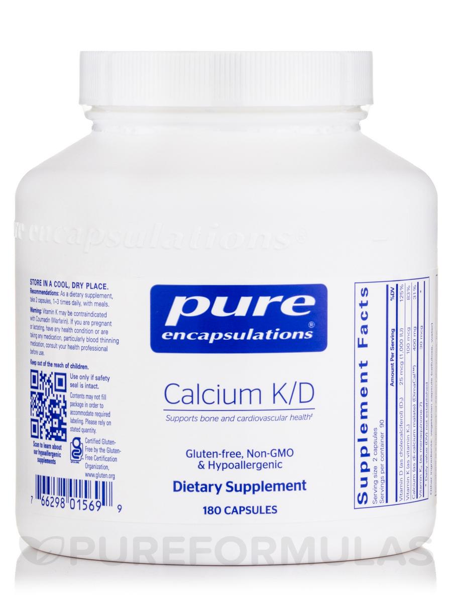 Calcium K/D - 180 Capsules