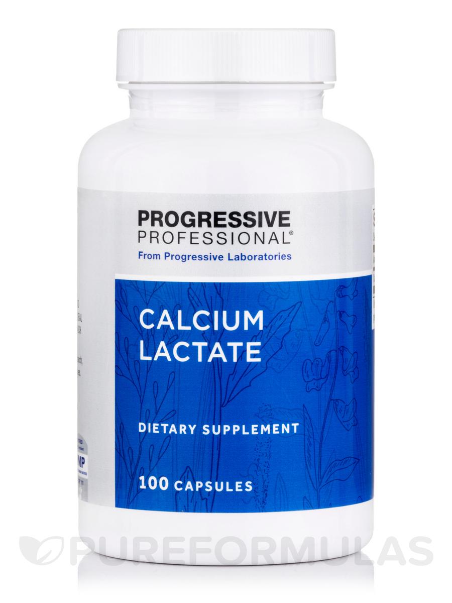 Calcium Lactate 115 mg - 100 Capsules