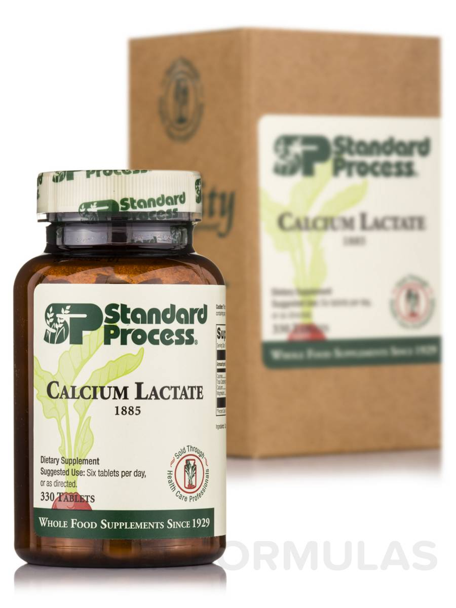 Calcium Lactate - 330 Tablets