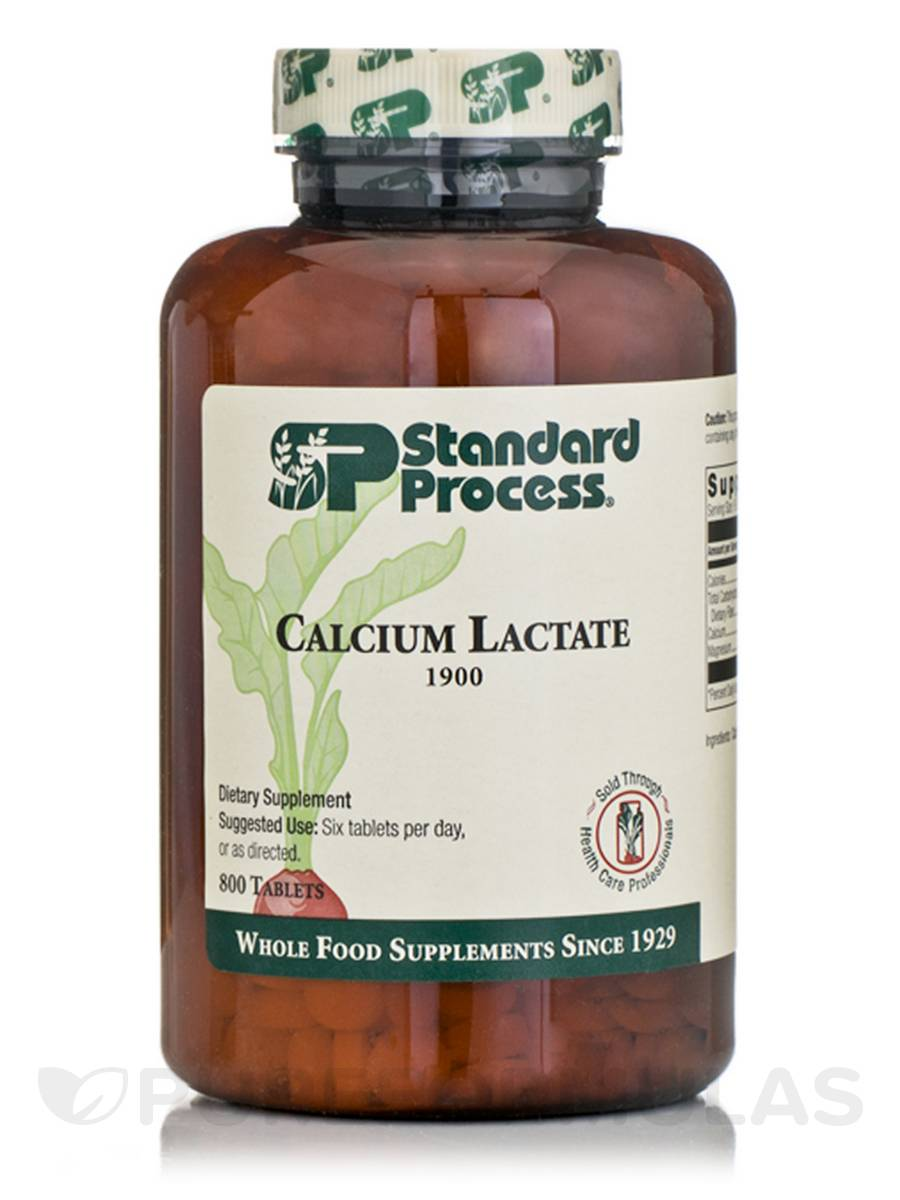 Calcium Lactate - 800 Tablets
