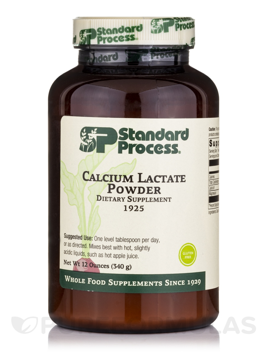 Calcium Lactate Powder - 12 oz (340 Grams)