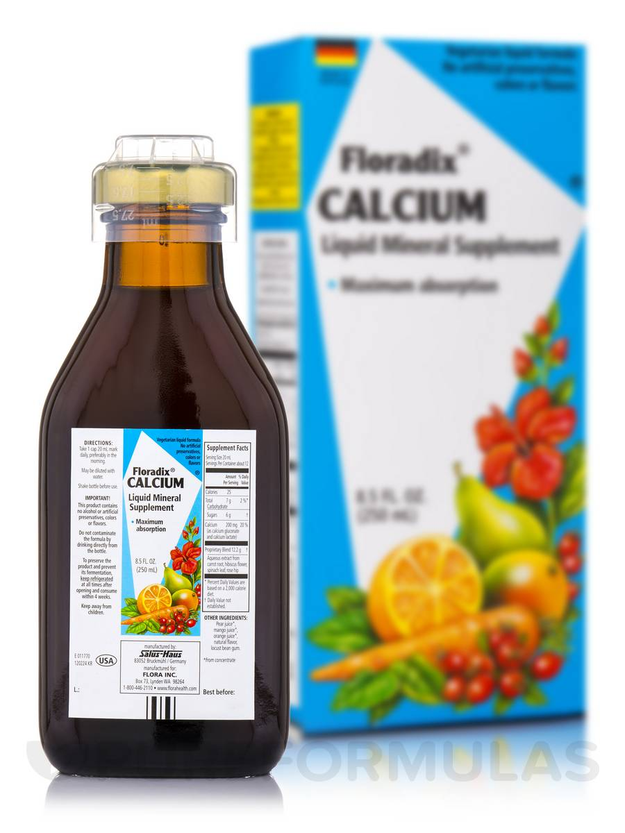 Calcium Liquid - 8.5 fl. oz (250 ml)