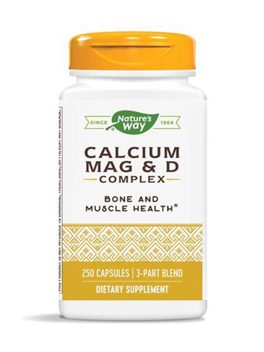 Calcium Mag & D Complex - 250 Capsules