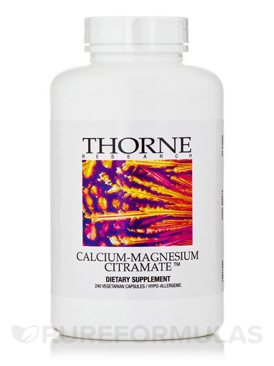 Calcium-Magnesium CitraMate - 240 Vegetarian Capsules