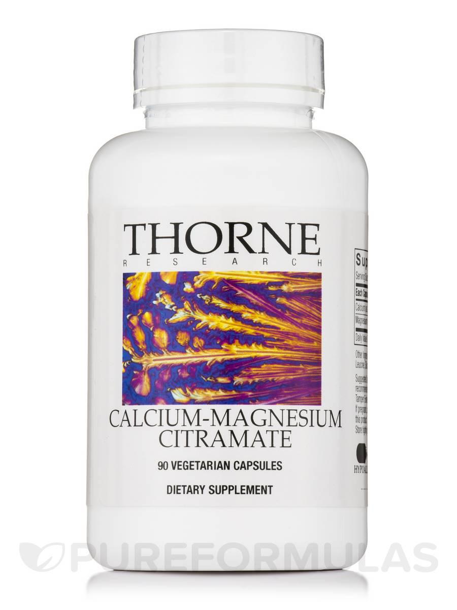 Calcium-Magnesium CitraMate - 90 Vegetarian Capsules