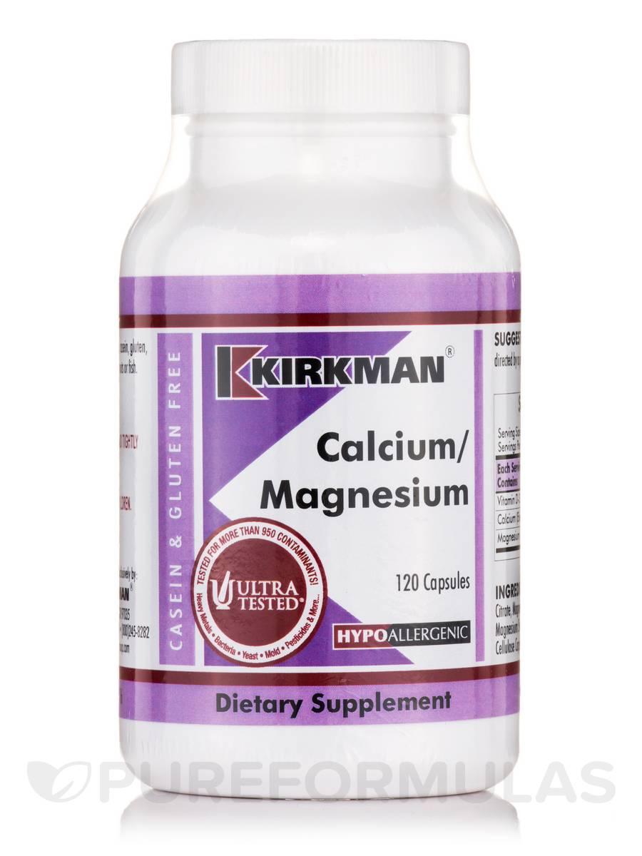 Calcium/Magnesium -Hypoallergenic - 120 Capsules