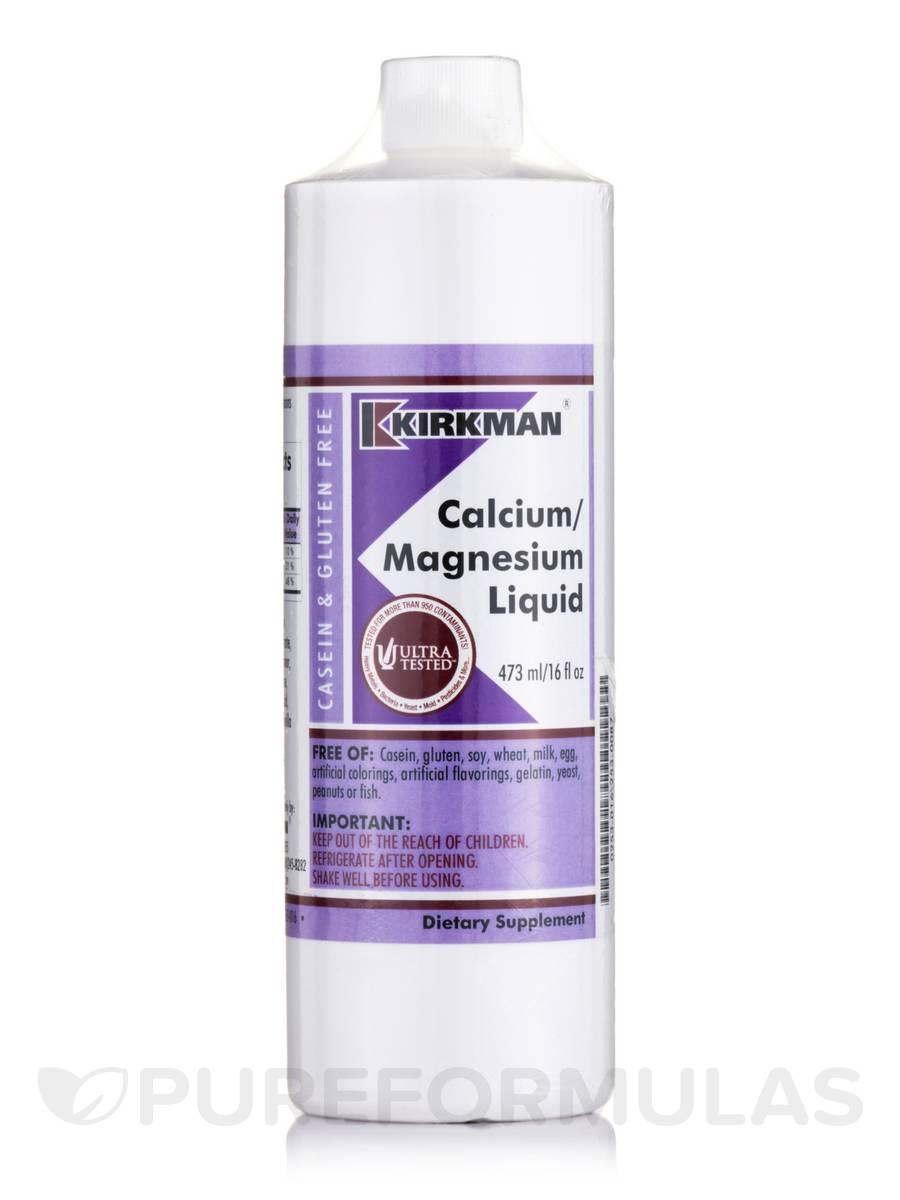 Calcium Magnesium Liquid - 16 fl. oz (473 ml)