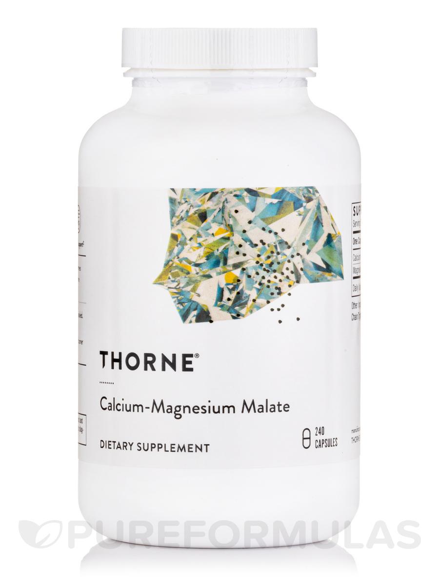 Calcium-Magnesium Malate - 240 Capsules