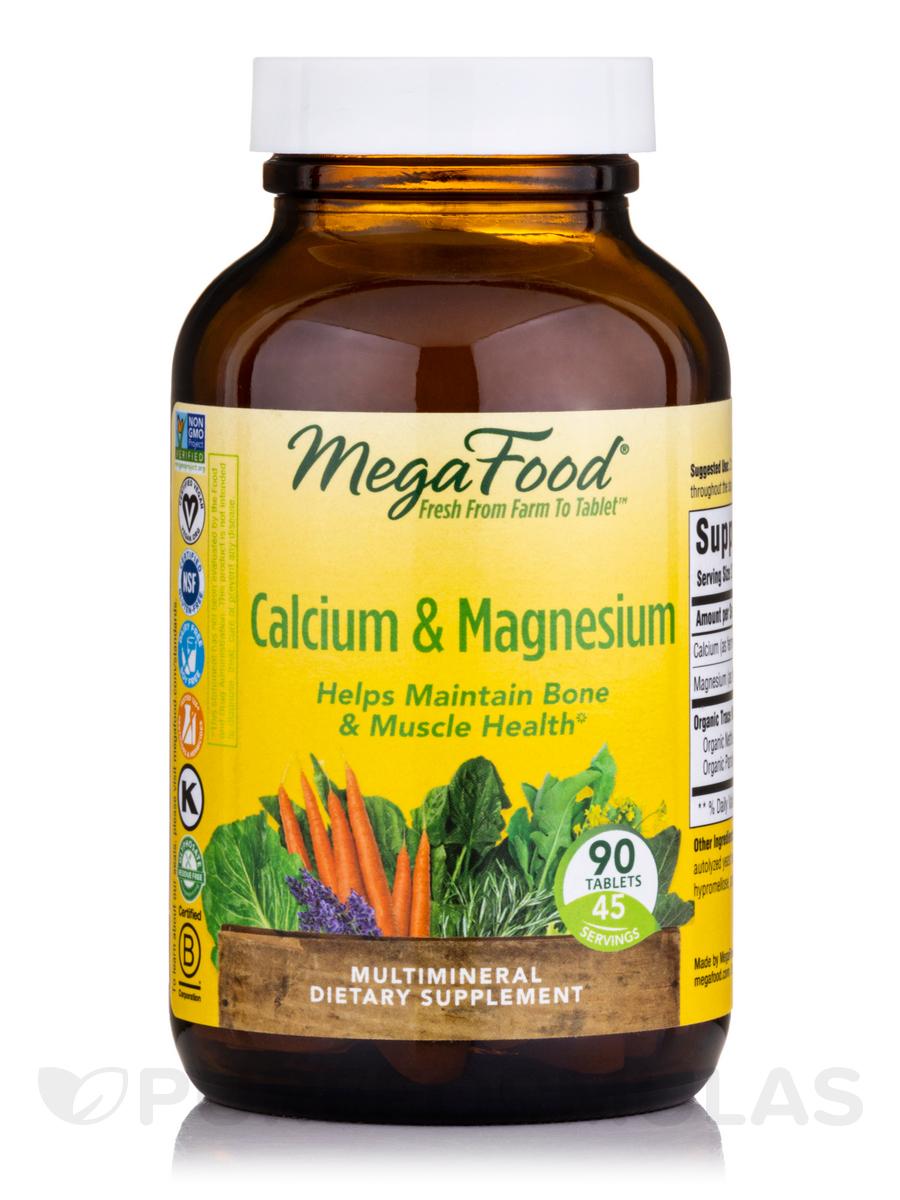 Calcium, Magnesium & Potassium - 90 Tablets