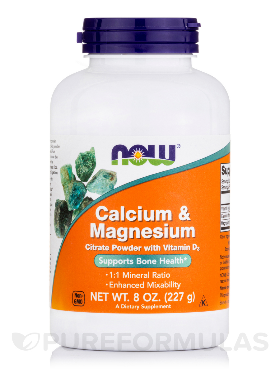 Calcium & Magnesium Powder - 8 oz (227 Grams)
