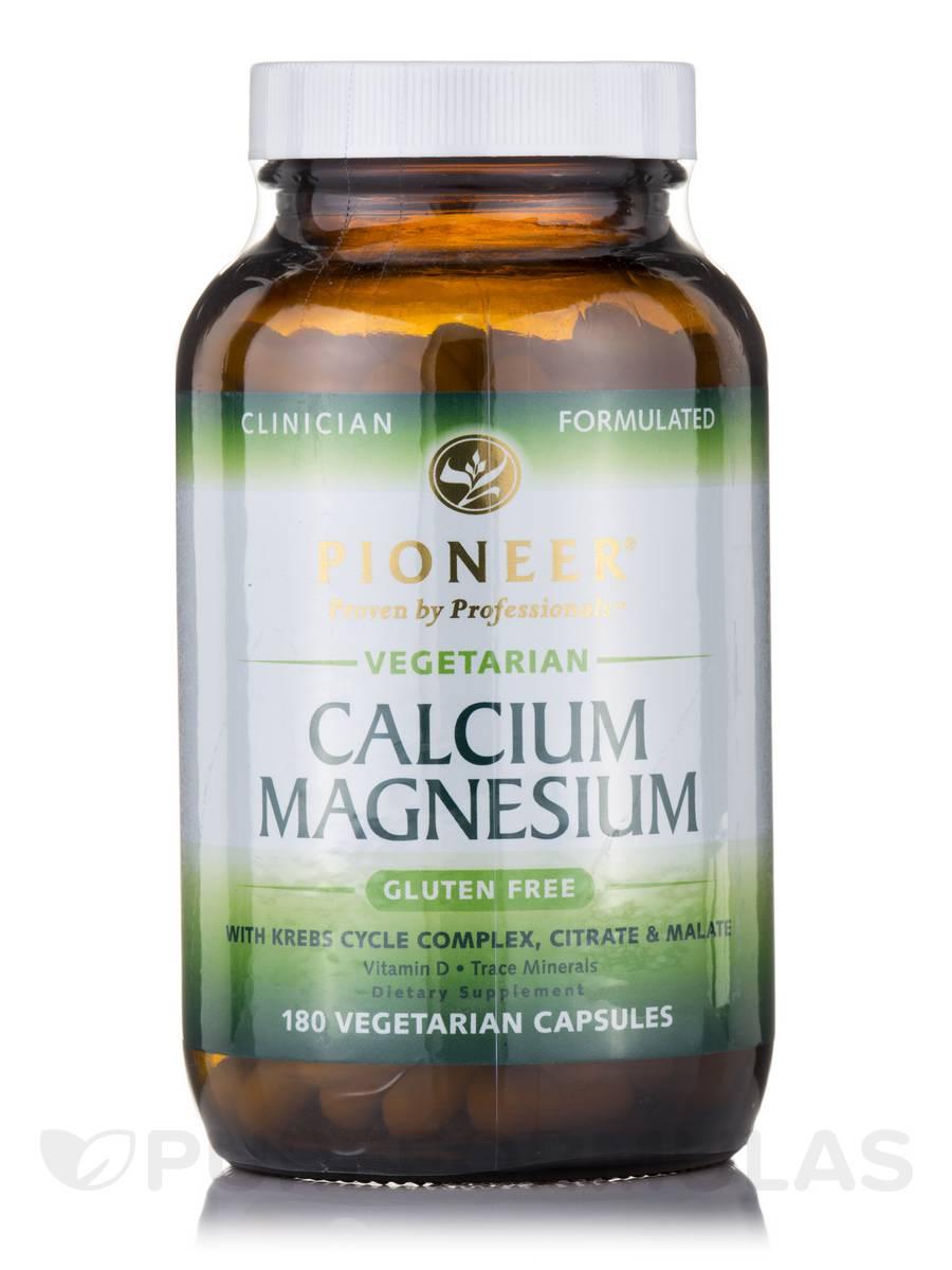 Calcium Magnesium (Veg) - 180 Vegetarian Capsules