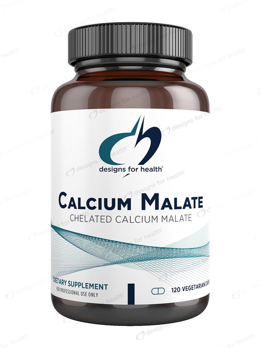 Calcium Malate - 120 Vegetarian Capsules