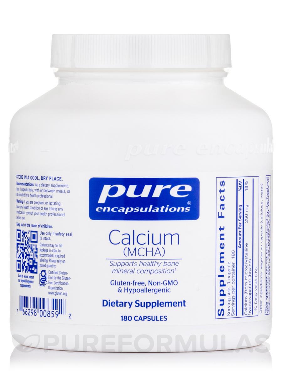 Calcium (MCHA) - 180 Capsules